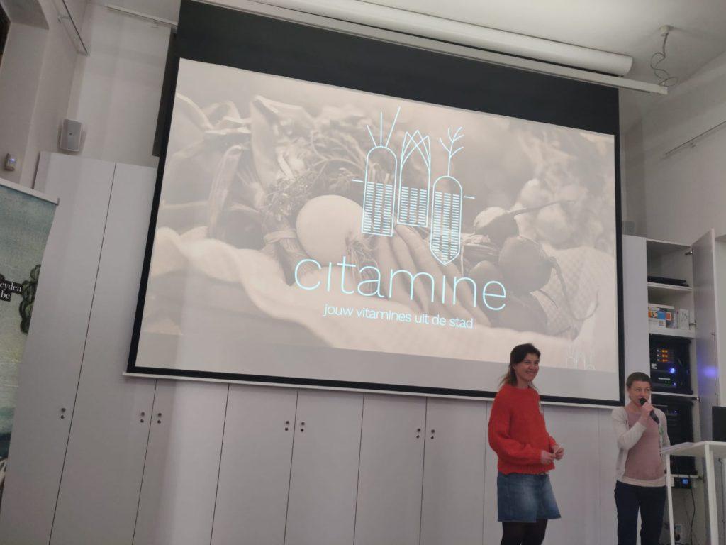 Citamine voorgesteld op Café Carré in Mechelen